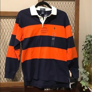 Ralph Lauren Polo Rugby Shirt - Boys L 16-28